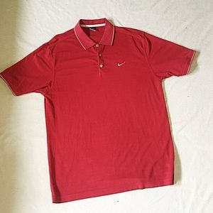 Nike Dri Fit Polo Size Large